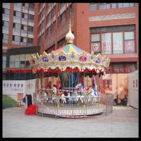 Buy cheap Charming & Professional outdoor carousel merry go round horse for sale product