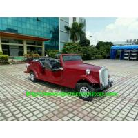 Buy cheap Resort 6 Person Classic Vintage Electric Car For Personal Transport 28km/H from wholesalers