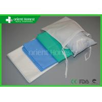 Buy cheap SPA Hospital Logo Printed Disposable Bed Sheets With Pillow Case product