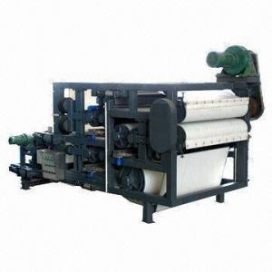 Buy cheap Filtre-presse de ceinture pour l'installation de traitement de asséchage de processus de boue de machine de grain épuisé product