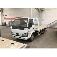 Buy cheap Flatbed Wrecker Tow Truck 1500kg Rated Lifting Weight Working Stroke 2680mm product
