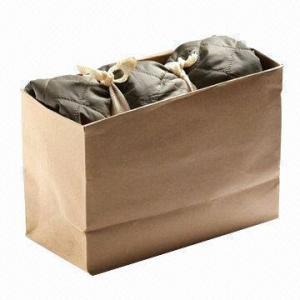China saco de papel com as cordas de nylon dobro, apropriadas Eco-amigáveis para a embalagem e as finalidades do presente wholesale