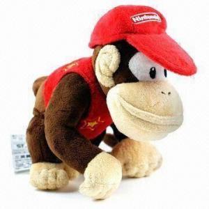 Buy cheap DD Kong Super Mario Plush Series Doll, Soft and Stuffed product