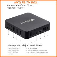 Buy cheap Caja elegante quad-core MXQ R9 de la caja RK3229 UHD 4K 60fps TV de MXQ R9 4K Android TV product