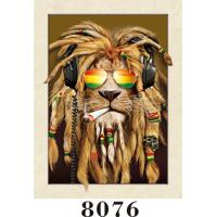 Buy cheap Pretty Dogs 3D lenticular  Painting 5D Images With PET 0.6MM+157g Coated Paper Material for Home Decoration from wholesalers