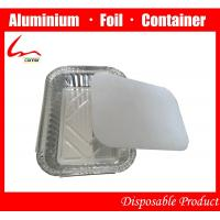 Buy cheap Take-out food Eco-friendly Aluminum Foil Fast Food Box With Cover from wholesalers
