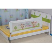 China Adjustable Easy Folded Crib Rail Protector With Mesh Material wholesale