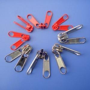 Buy cheap Metal Zinc Alloy Zipper Slider With Double Pull , OEKO Certification product