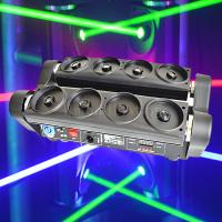 Buy cheap Wholesale Price Pro Stage Lighting 8 Eyes RGB Spider Beam Moving Laser Light product
