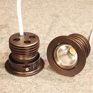 China ceiling luminaire mini LED spotlight cabinets light mesuem IP65 cob spot lights black housing light 3years diming light wholesale