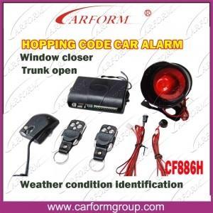 Función auto CF886H de la identificación de la condición meteorológica de los sistemas de alarmas del código de la lupulización