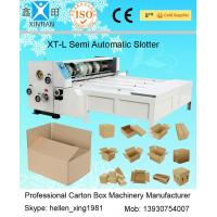 Buy cheap Stainless Steel Automatic Cartoning Machine For Paperboard , Carton Stitching Machine product