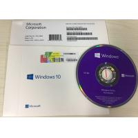 Buy cheap Windows 10 Pro OEM Key DVD OEM Package Professional FPP within 24 Hours product