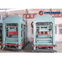 China Fully Automatic Concrete Hollow Block Machine With 26 Seconds Cycle Time on sale