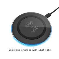 Buy cheap Fast universal qi wireless mobile charger pad mobile phone accessories charger for samsung for iphone product