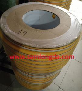Buy cheap Superflex amarillea la manguera de aire, manguera del espray, manguera del PVC, calidad de Toyox, tamaños ID10*OD16mm, embalaje de papel del carrete product