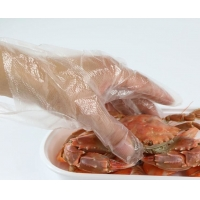 Buy cheap Touchless Biodegradable PE disposable glove dispenser product