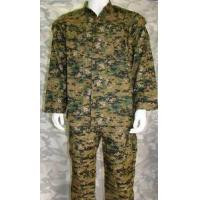China Digital Camo Woodland Military Uniform For 35% Cotton And 65% Polyester on sale