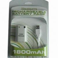 Buy cheap Rechargeable Battery Pack for xBox 360 Game Accessories product