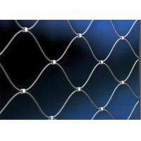 Buy cheap 7X7 7X19 High Quality Stainless Steel Wire Rope Mesh Net/ 304 316 product