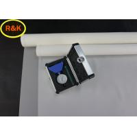 China Multi Function Polyester Screen Mesh High Temperature Resistance Low Elasticity on sale