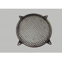 Buy cheap Customized Round Type Waffle Speaker Grille with Expanded / Perfor Metal Mesh product