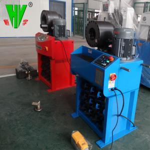 Buy cheap DX68 hydraulic hose assembling crimping machine multi purpose hose crimping machine product