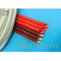 GLASS FIBRE SILICONE WIRE SLEEVING SILICONE FIBERGLASS SLEEVING