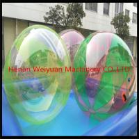 Buy cheap CE certificate durable  2M  TPU0.8 Colorful Water Walking Ball  with German zip use in shopping mall product