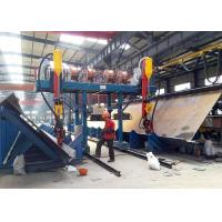 Buy cheap 2000mm Web Height H Beam Line , Automatic T Type SAW H Beam Cutting Machine product