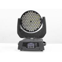 Buy cheap DMX512 Pro DJ Stage Effect Light , RGBW 108*3W Led Wash Moving Head IP33 from wholesalers