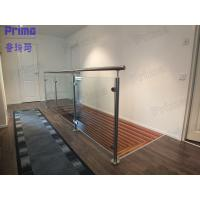 Buy cheap Stairwell Glass Balustrade Design product