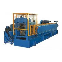 China Color Steel Vaulting Cap Roll Forming Machine For Metal Roof Ridge Tile Separated Water Easily Automated Operate on sale