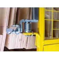 Industrial Scaffold Ladder Spring Close Safety Gate With Powder Coated