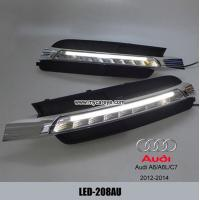 China LED Daytime Running Light kit For Audi A6 A6L C7 Driving Fog Lamp DRL wholesale