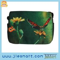 Buy cheap JSMART LUCY Canvas messenger bag custom made sublimation printing photo bag from wholesalers