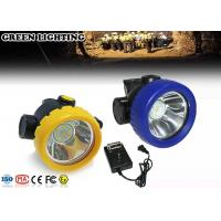 China 2.2Ah Rechargeable LED Headlamp 3500 Lux Brightness Shock - Resistant on sale