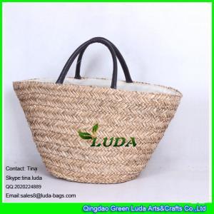 Buy cheap Da bolsa feito a mão da palha de LUDA o plâncton vegetal natural faz sacos da palha product
