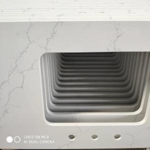 Buy cheap High Tenacity 93% Quartz Stone Countertops For Indoor Decoration product