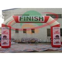 Buy cheap Sealed Inflatable Arch For Advertising , Start and Finish Line Advertising from wholesalers