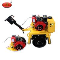 Buy cheap High Quality ZM-700 Walking Type Single Drum Vibratory Road Roller With HONDA GX390 Engine product