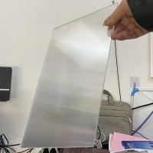 Buy cheap PS rigid lenticular plastic 20 LPI flip lenticular effect thickness 3 mm designed for flip effect on digital printer product