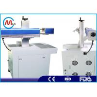 Buy cheap Small Metal Carving Business Card Laser Part Marking Machines High Precision product
