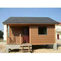 Buy cheap Water - Proof Ecology Wood Cladding House In Walnut / Red Wood / Coffee Color product