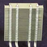 Buy cheap Customizing Aluminium Stacked fin Heat Sink for Machinery product