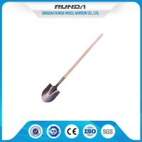 Buy cheap Farming Flat Spade Shovel / Head Shovel Hardwood Handle Railway Steel Material from wholesalers