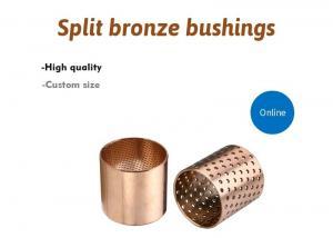 Buy cheap High Load Capacity 120N/Mm² 2.0m/S 090 Split Bronze Bushings product