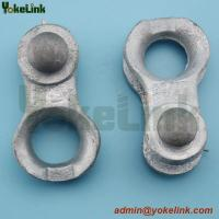 Buy cheap Hot dip galvanized thimble clevis for guy grip overhead line fitting product