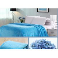Softness Knitted Coral Blankets And Throws Customized Weight Good Hand - Feeling