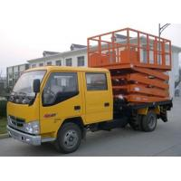 Buy cheap 10m hydraulic truck mounted scissor lift product